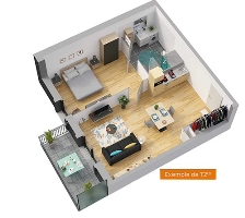 Les Seniorales - Angers - appartements neufs - image n°4