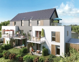 Clos des Noyers-Angers-appartements neufs - image n°1
