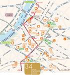 34 rue des Arènes - carte