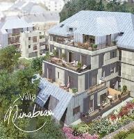 Villa Mirabeau facade côté jardin