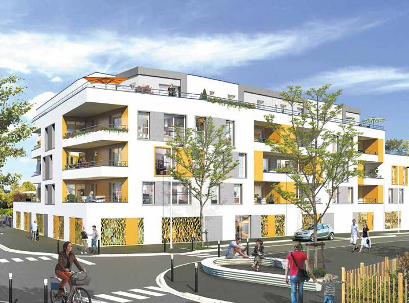 Lamoureux immobilier angers investissement et for Prix m2 angers